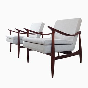 Brazilian Dinamarquesa Armchairs by Jorge Zalszupin for L'Atelier, 1959, Set of 2