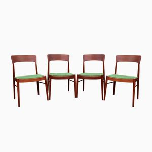 Vintage Danish Teak Dining Chairs Kai Kristiansen for Korup Stolefabrik, Set of 6