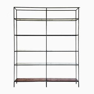Vintage Abstracta Shelving Unit by Poul Cadovius, 1950s