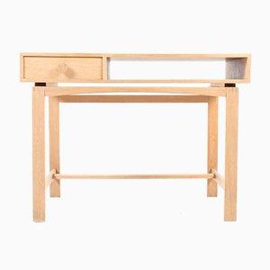 Mid-Century Danish Free-Standing Oak Desk, 1950s