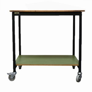 Industrial Side Table or Trolley