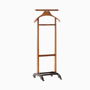 Italian Wooden Valet by Ico & Luisa Parisi for Fratelli Reguitti, 1950s