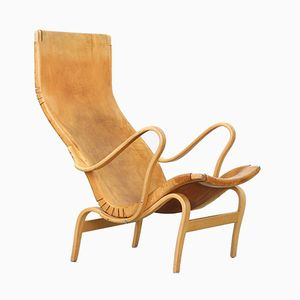 Vintage Pernilla Lounge Chair by Bruno Mathsson for Karl Matsson