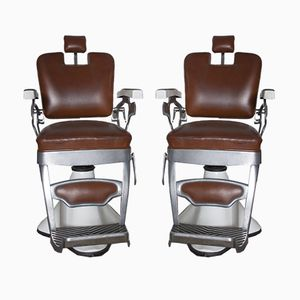 Italian Barber Chairs from Jupiter, 1960s, Set of 2