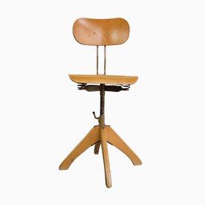 Ergonomic Swivel Chair by Margarete Klöber for Polstergleich, 1950s