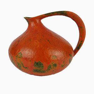 Vase Emaillé par Kurt Tschörner pour Ruscha