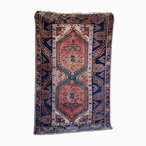 Vintage Anatolian Handmade Woolen Rug, 1960s