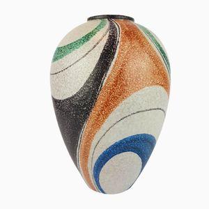 Vase Vintage en Verre Murano par Rudolf Schardt pour Ruscha