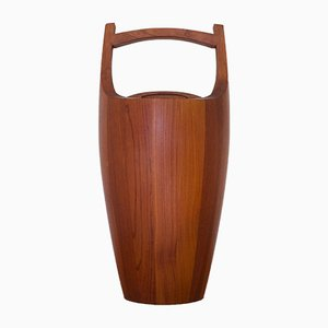 Danish Teak Ice Bucket by Jens Quistgaard for Dansk, 1950s