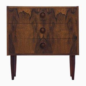 Vintage Veneered Rosewood Chest of Drawers