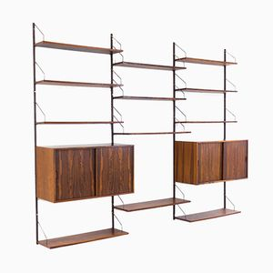 Vintage Wall Unit by Rud Thygesen & Johnny Sørensen for Hansen & Guldborg