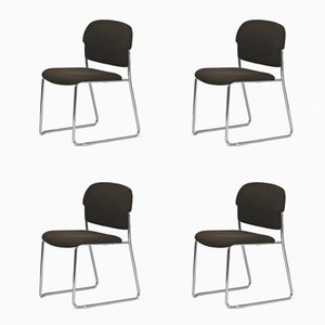 Dining Chairs by Gerd Lange for Drabert, 1970s, Set of 4