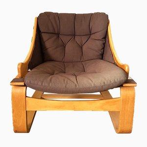 Schwedischer Vintage Sessel von Ake Fribytter für Nelo