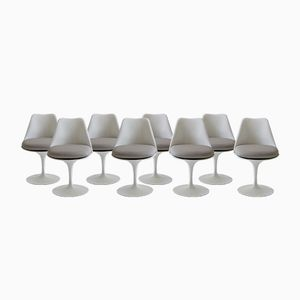 Tulip Chairs by Eero Saarinen for Knoll International, 1950s, Set of 8