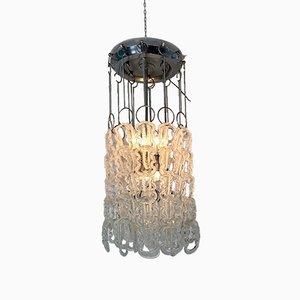 Lampe à Suspension Modèle Giogali par Angelo Mangiarotti pour Vistosi, 1970s