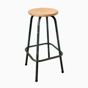 Vintage Industrial Stool from Unic