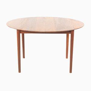 Extendable Dining Table by Peter Hvidt for Søborg Møbelfabrik, 1950s