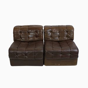Vintage DS-11 Patchwork Leather Sofa from de Sede