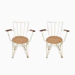 Mid-Century Garden Chairs, Set of 2