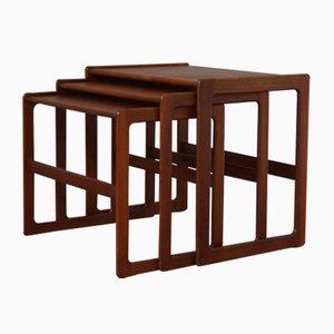 Nesting Tables by Arne Hovmand Olsen for Mogens Kold, 1960s