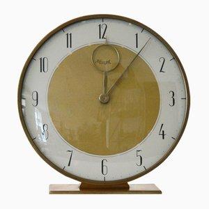 Reloj de mesa Mid-Century de Kienzle, años 50