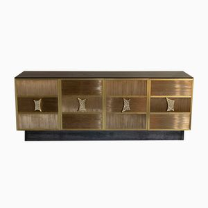 Brass Wire Sideboard from Edizioni Flair, 2018