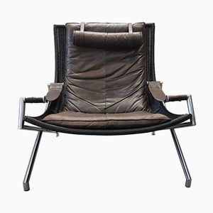 DES2021 Lounge Chair by Gerard van den Berg for Rohé, 1980s