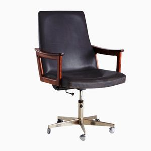 Executive Chair by Erik Kirkegaard for Hong Stolefabrik, 1960s