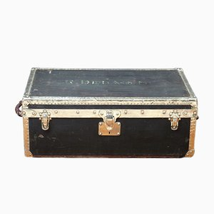 Antique Dark Green Trunk from Louis Vuitton