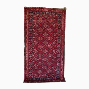 Alfombra Turkmen Ersari Ensi antigua, década de 1900