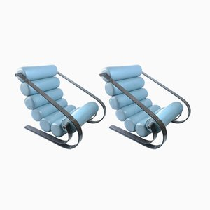 Balestra Lounge Chairs by Marzio Cecchi for Studio Most, 1968, Set of 2