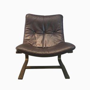 Mid-Century Siesta Chair & Ottoman in Rosewood by Ingmar Relling for Westnofa
