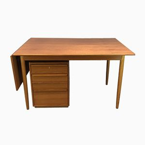 Danish Table with Chest of Drawers, 1960s