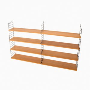 "Wall Shelf by Kajsa & Nils ""Nisse"" Strinning for String, 1950s"