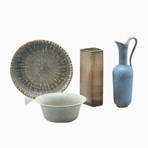Juego de cerámica vintage de Gunnar Nylund para Rörstrand