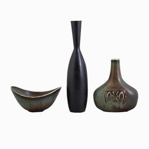 Juego vintage de cerámica de Gunnar Nylund & Carl-Harry Stålhane para Rörstrand