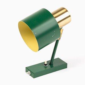 Lámpara de pared Alfa vintage en verde de Jo Hammerborg para Fog & Mørup