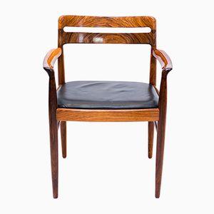 Palisander Armlehnstuhl von H.W. Klein für Bramin, 1960er