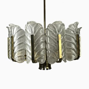 Space Age Chandelier by Carl Fagerlund for Orrefors, 1960s