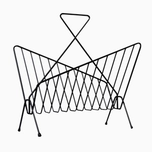 Geometric Shaped Magazine Rack, 1950s
