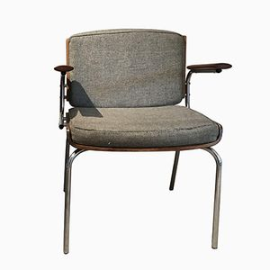 Mid-Century Danish Armchair from Duba