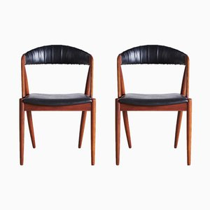 Model 31 Chairs by Kai Kristiansen for Schou Andersen, 1960s, Set of 2