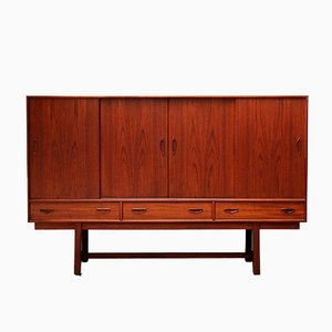 Mueble bar danés vintage de Clausen & Søn, años 60