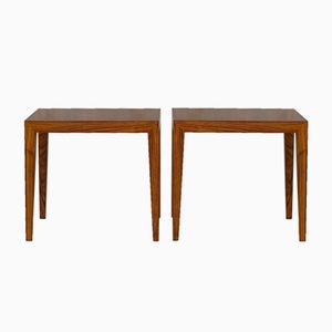Mid-Century Rosewood Coffee Tables by Hans Henrik Hansen & Severin Hansen for Haslev Møbelsnedkeri, Set of 2