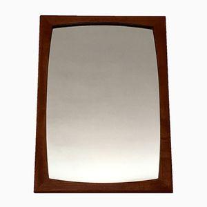 Specchio vintage in teak, anni '60