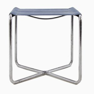 Vintage Model B8 Chrome Bauhaus Side Table or Stool by Marcel Breuer for Mücke Melder