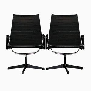 Sedie girevoli EA116 di Charles & Ray Eames per Herman Miller, anni '50, set di 2
