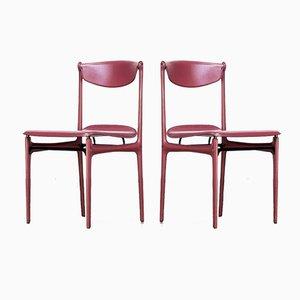 Chaises par Tito Agnoli pour Matteo Grassi, 1980s, Set de 2