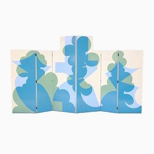 Biombos de Giacomo Balla para Gavina, años 70. Juego de 2