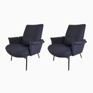 Model SK660 Armchairs by Pierre Guariche for Steiner, Set of 2